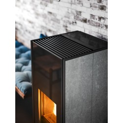 Piecyk na pelet Klin czarny Comfort Air 8,0 kW - MCZ
