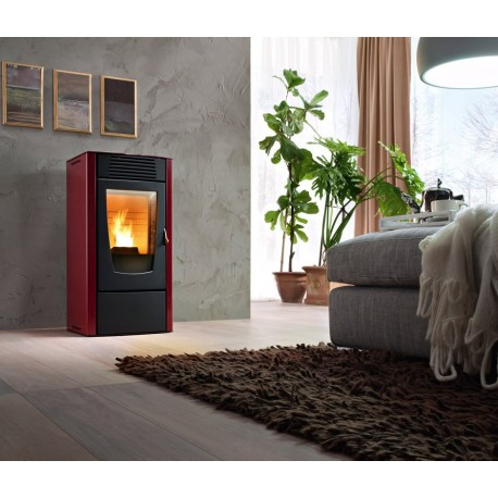 Piecyk na pelet Dalia Air 6,0 kW - Red