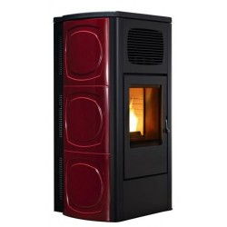 Piec na pelet Orchidea Hydro 21,5 kW - Red