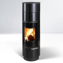 Delia kafel czarny mat plus 7,5 kW - Thorma